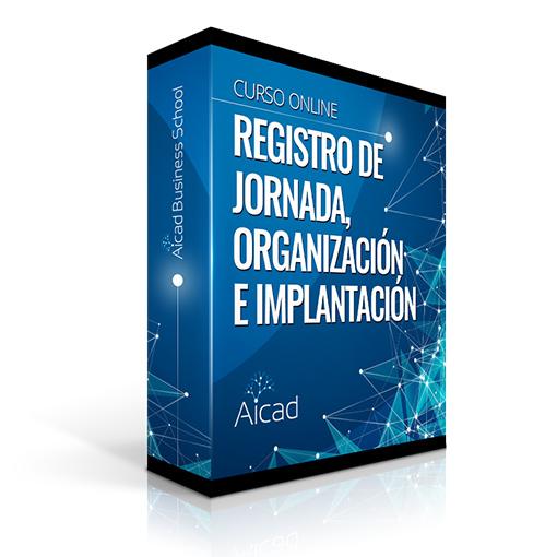 Course Image Registro de Jornada, Organización e Implantación