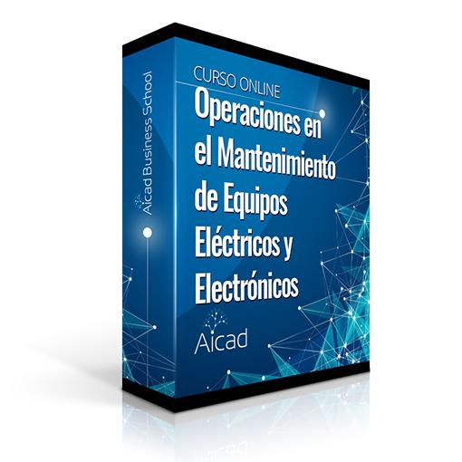 Course Image Operaciones Auxiliares en el Mantenimiento de Equipos Eléctricos y Electrónicos