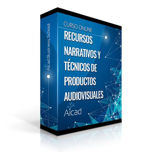 Course Image Recursos Narrativos y Técnicos para el Desarrollo de Productos Audiovisuales Multimedia