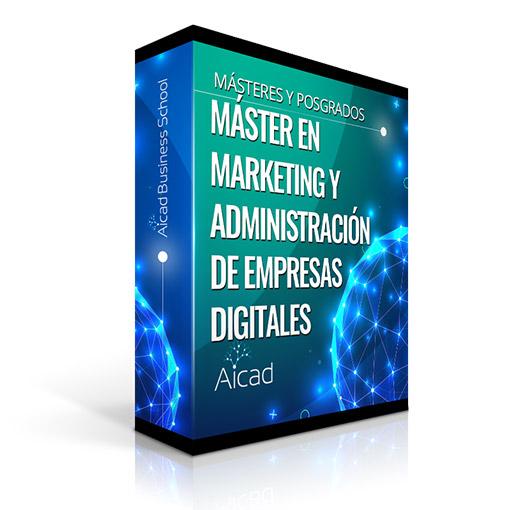 Course Image Máster en Marketing y Administración de Empresas Digitales