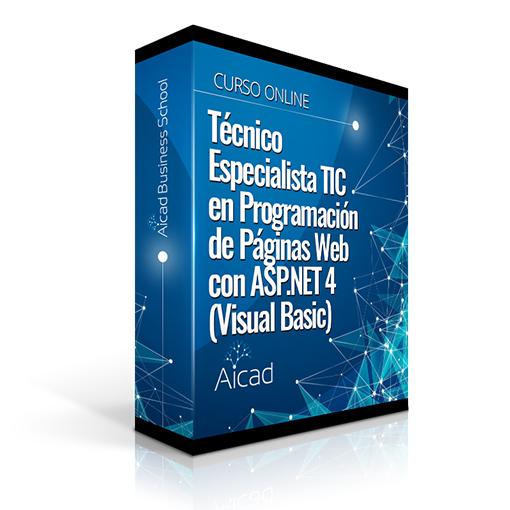 Course Image Técnico Especialista TIC en Programación de Páginas Web con ASP.NET 4 (Visual Basic)