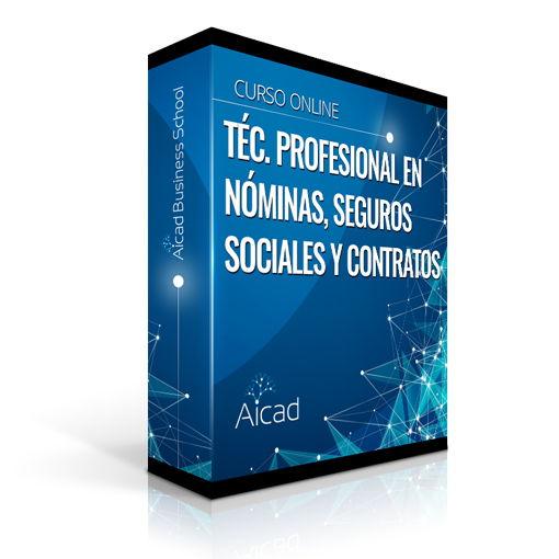 Course Image Técnico Profesional en Nóminas, Seguros Sociales, Finiquitos y Contratos