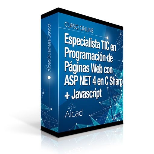 Course Image Especialista TIC Programación de Páginas Web con ASP.NET 4 en C# + Javascript
