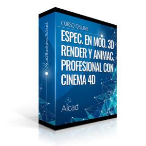 Course Image Modelado 3D, Render y Animación Profesional con Cinema 4D Broadcast