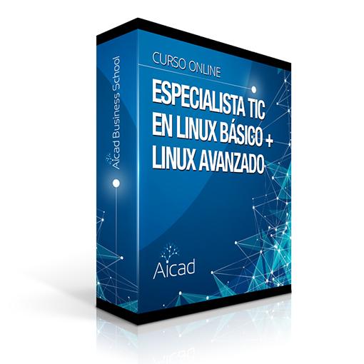 Course Image Especialista TIC en Linux Básico + Linux Avanzado