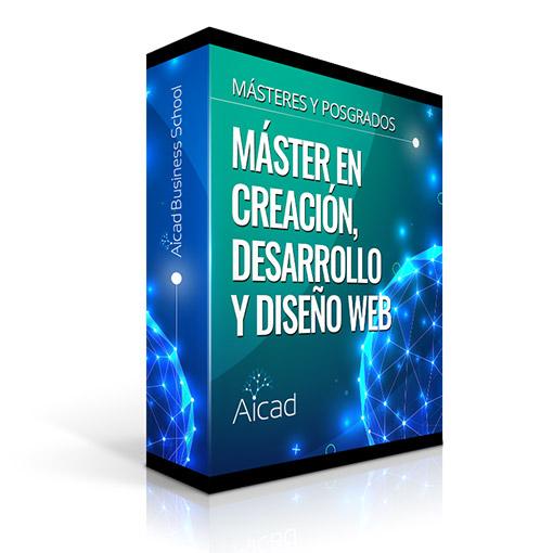 Course Image Máster en creación, desarrollo y diseño web