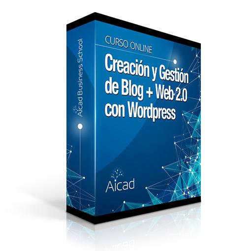 Course Image Creación y Gestión de Blog + Web 2.0 con Wordpress