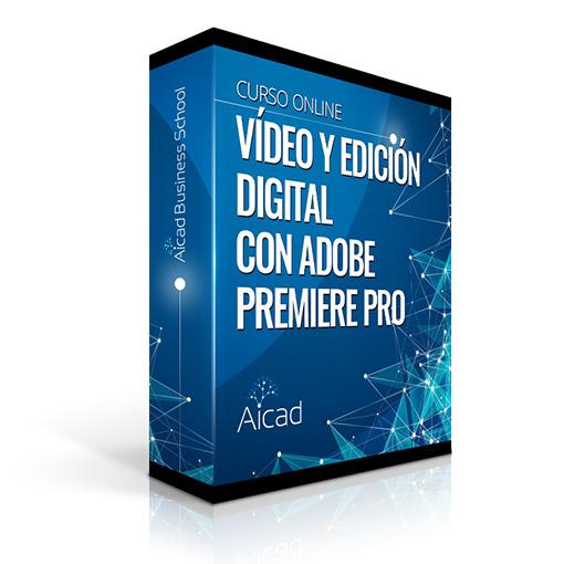 Course Image  Edición Digital y Montaje de Vídeo Profesional con Adobe Premiere Pro