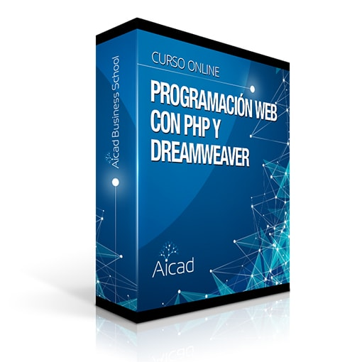 Course Image Programación Web con PHP y Dreamweaver