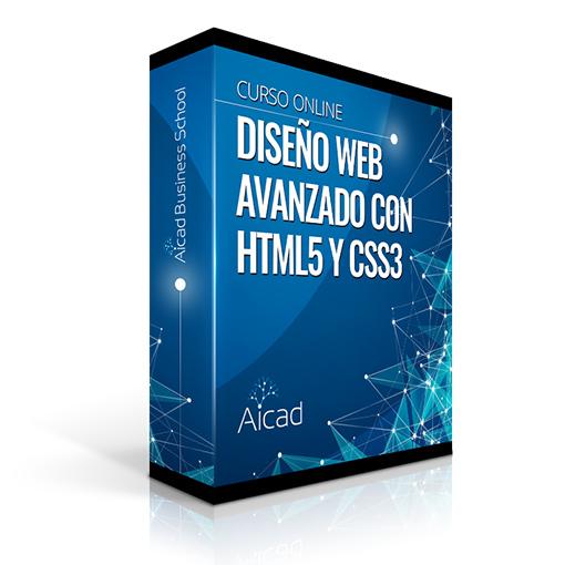 Course Image Técnico Profesional en Diseño Web Avanzado con HTML5 y CSS3